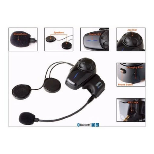 Sena SMH10 Motorcycle Bluetooth And Intercom Dual Pack 5