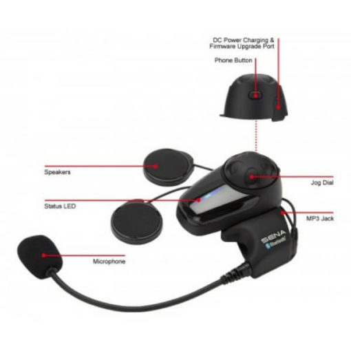 Sena SMH10 Motorcycle Bluetooth And Intercom Dual Pack 6