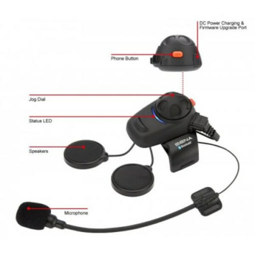 Sena SMH5 Motorcycle Bluetooth And Intercom Dual Pack 5