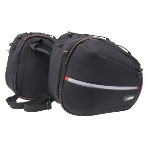 Viaterra Falcon Black Saddle bag 1