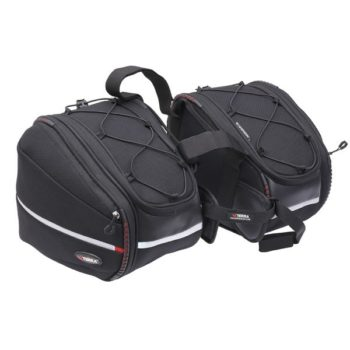 Viaterra Falcon Black Saddle bag 2