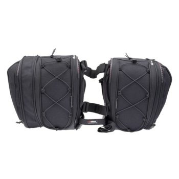 Viaterra Falcon Black Saddle bag 3