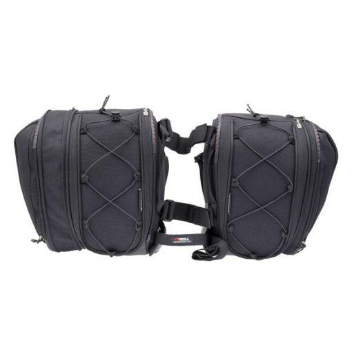 Viaterra Falcon Black Saddle bag 3