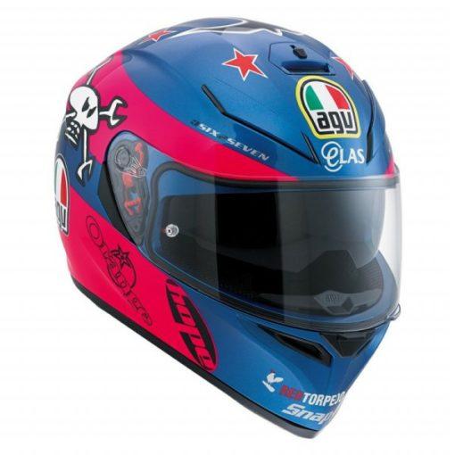 agv k3 sv guy martin helmet 1