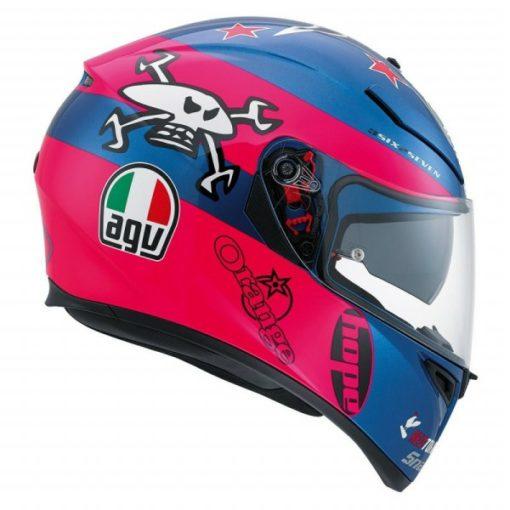 agv k3 sv guy martin helmet 2