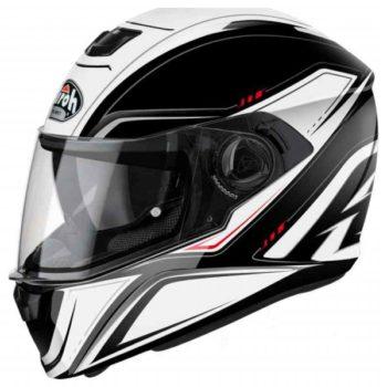 airoh storm sprinter gloss helmet white 800x800