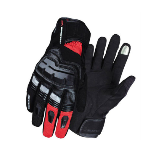 scoyco MC17B black red Gloves 1