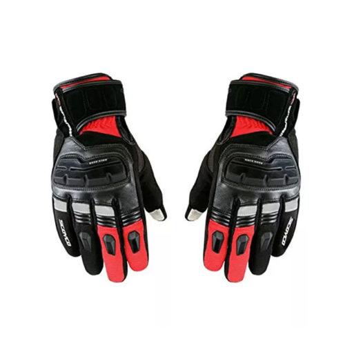 scoyco MC17B black red Gloves 2