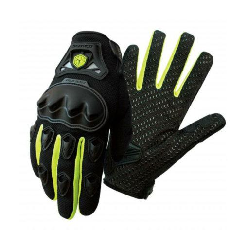 scoyco MC29 Black Yellow Gloves 2