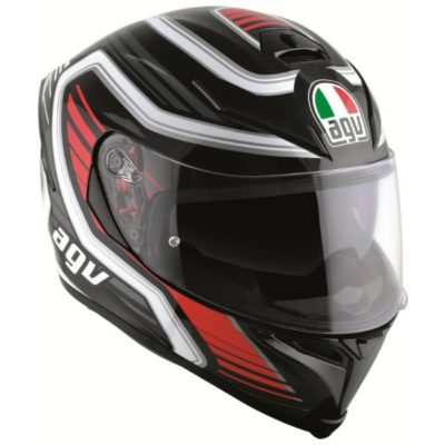 AGV K5 S Multi PLK FireFace Matt Black Red Full Face Helmet