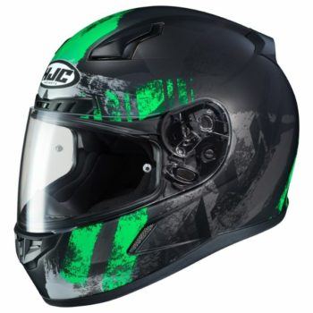 HJC CL 17 Arica MC4HSF Matt Black Grey Green Full Face Helmet