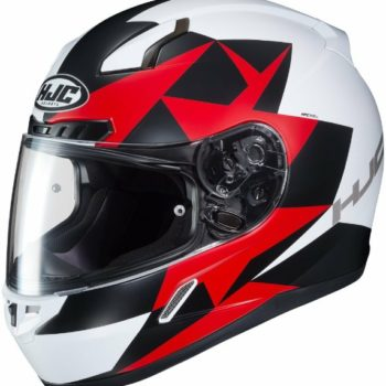 HJC CL 17 Ragua MC1SF Matt White Black Red Full Face Helmet