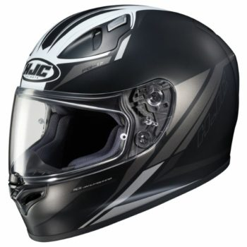 HJC FG 17 Valve MC5SF Matt Black White Full Face Helmet