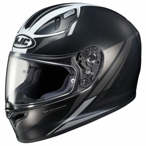 HJC FG 17 Valve MC5SF Matt Black White Full Face Helmet