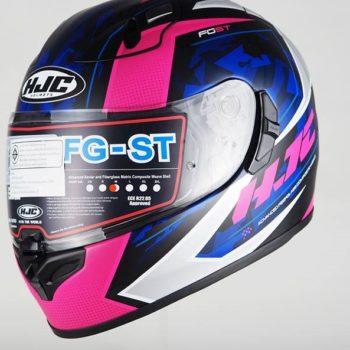 HJC FG ST Kume MC8SF Matt Black White Pink Blue Full Face Helmet 1