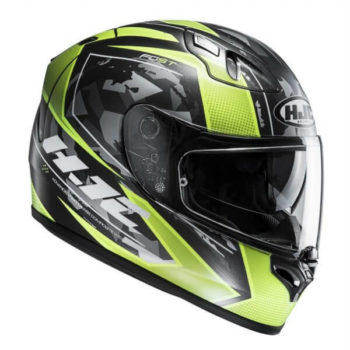 HJC FGST Kume MC4HSF Matt Green Black Full Face Helmet