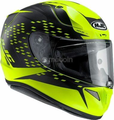 HJC RPHA 11 Oraiser MC4HSF Fluorescent Yellow Full Face Helmet