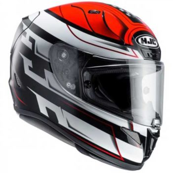 HJC RPHA 11 Skyrym MC1 Black White Red Full Face Helmet