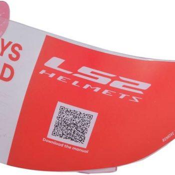 LS2 FF352 FF391 Clear Antifog Visor