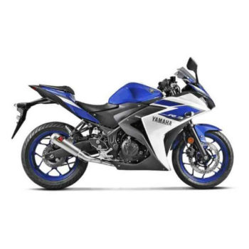 Akrapovic Full System Exhaust For Yamaha R3 Titanium 2