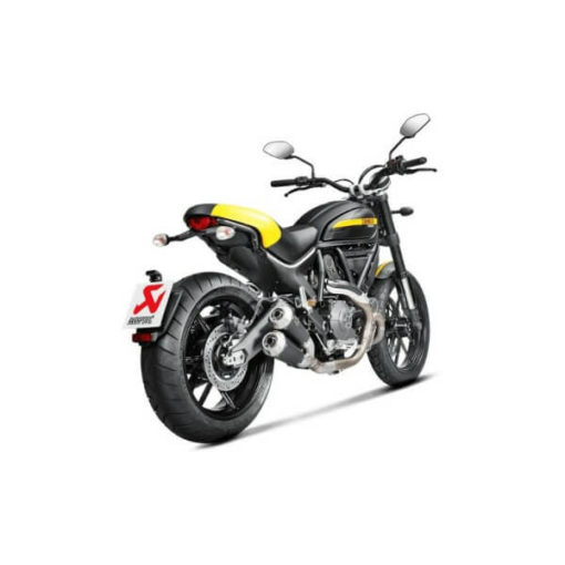 Akrapovic GP Slip On Exhaust For Ducati Scrambler 2015 2016 3