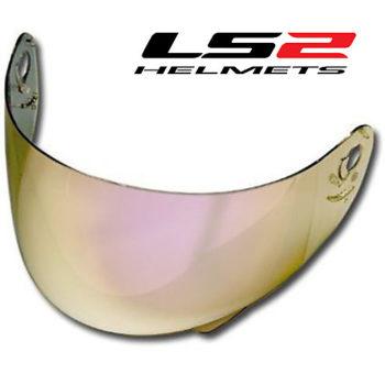 LS2 FF352 FF391 Gold Amber Visor