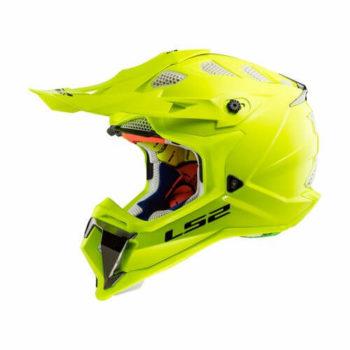 LS2 MX470 Subverter Solid Matt H V Yellow Full Face Helmet