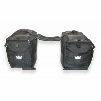 RoadGods Triton X1 SaddleBag With Capsule Rain Cover 4