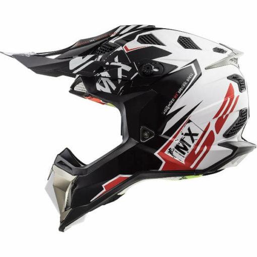 ls2 mx470 subverter emperor black white full face helmet