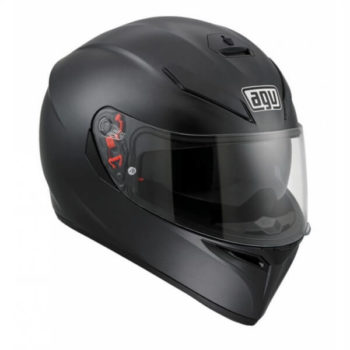 Agv K 3 Sv Matt Black Solid Plk Full Face Helmet 1