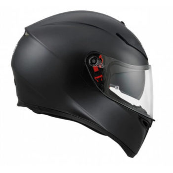 Agv K 3 Sv Matt Black Solid Plk Full Face Helmet 2