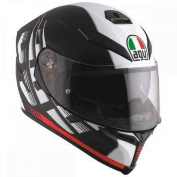 Agv K 5 S Darkstorm Gloss Black Red Multi Plk Full Face Helmet