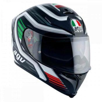 Agv K 5 S Firerace Gloss Black Italy Multi Plk Full Face Helmet 1