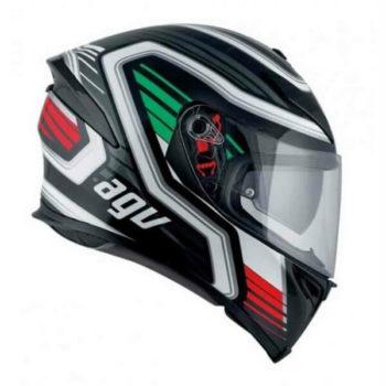 Agv K 5 S Firerace Gloss Black Italy Multi Plk Full Face Helmet 2