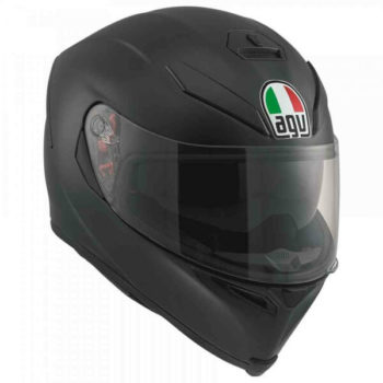 Agv K 5 S Matt Black Solid Plk Full Face Helmet 2