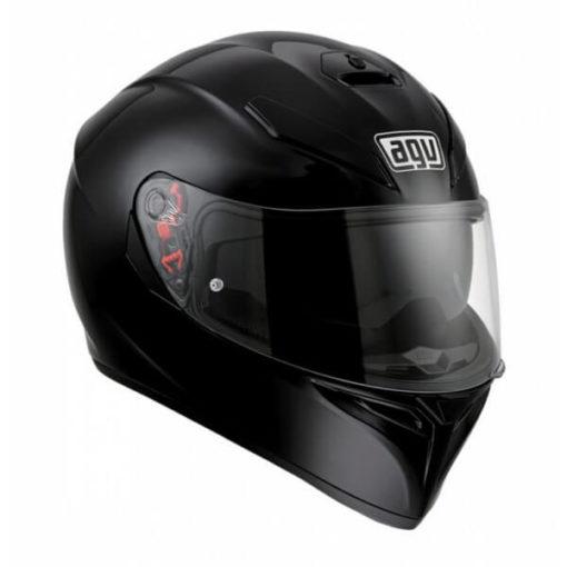 Agv K 3 Sv Gloss Black Solid PLK Full face Helmet 1