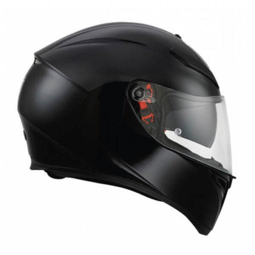 Agv K 3 Sv Gloss Black Solid PLK Full face Helmet 2