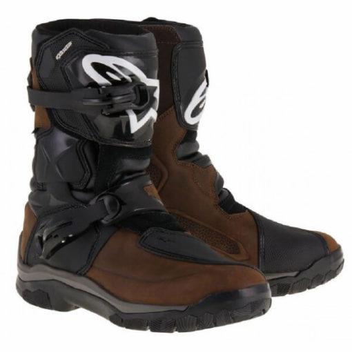 Alpinestars Belize Drystar Oiled Leather Black Brown Boots 1