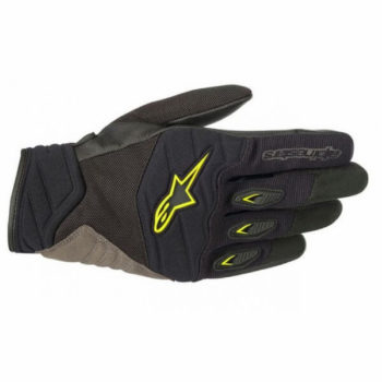 Alpinestars Shore Black Fluorescent Yellow Gloves 1