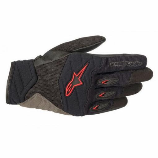 Alpinestars Shore Black Red Gloves 1