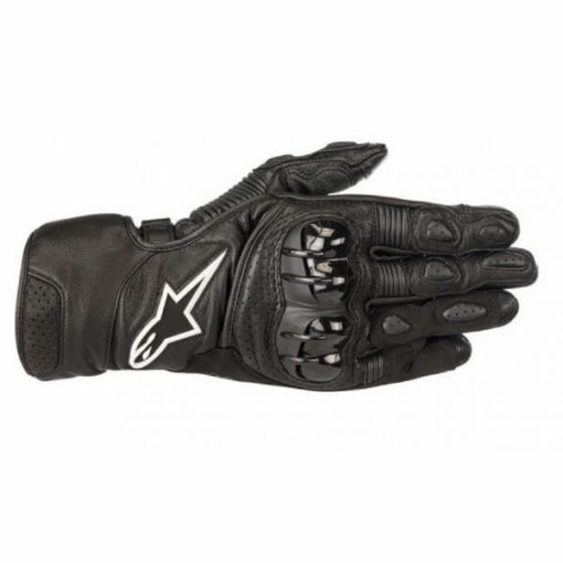 Alpinestars Sp 2 V2 Leather Black Gloves 1