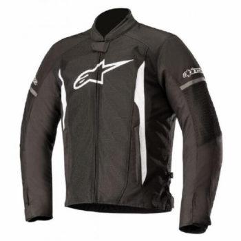 Alpinestars T Faster Air Black White Jacket 1
