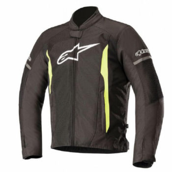 Alpinestars T Faster Air Black Yellow Jacket 1