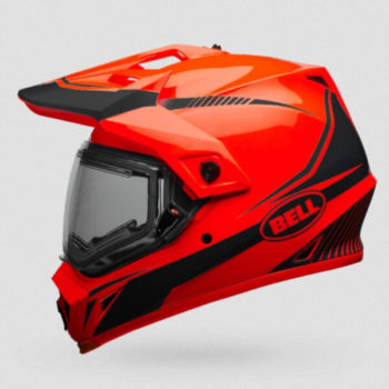 Bell Mx 9 Adventure Mips Torch Gloss Fluorescent Orange Motocross Helmet 2