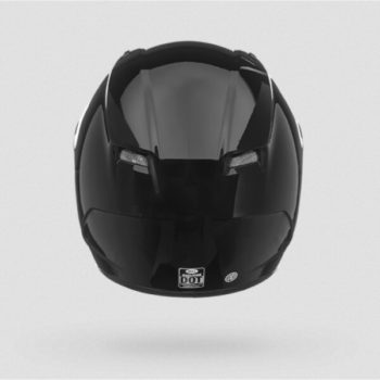 Bell Qualifier Solid Gloss Black Fullface Helmet 4