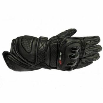 DSG Evo Pro Black Riding Gloves