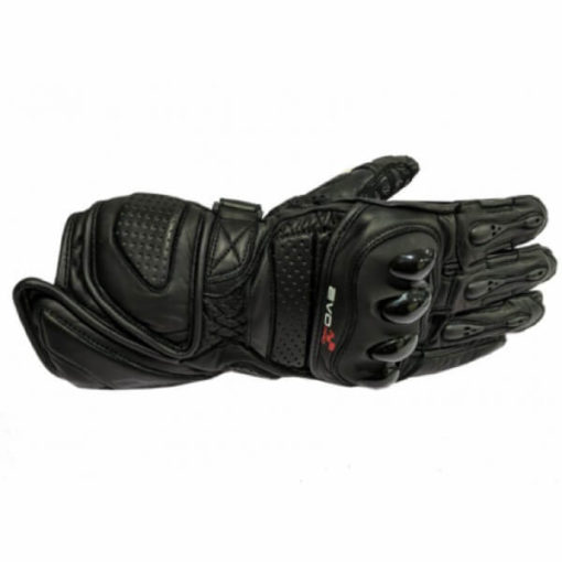 DSG Evo Pro Black Riding Gloves