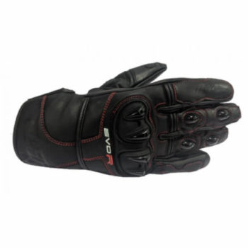 DSG Evo R Black Red Riding Gloves