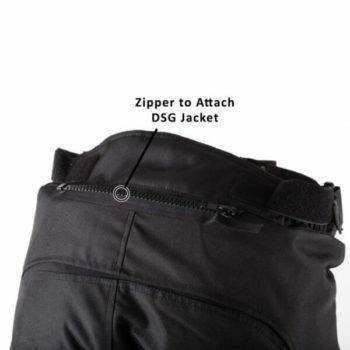 DSG Nero Waterproof Black Riding Pants 2