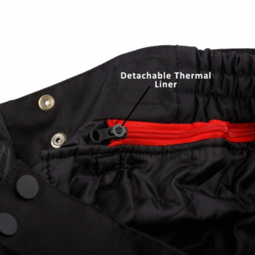 DSG Nero Waterproof Black Riding Pants 4